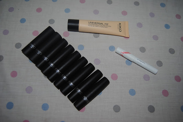 New Kiko Make Up Acquisitions