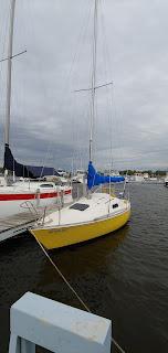 Mirage 24 sailboat,