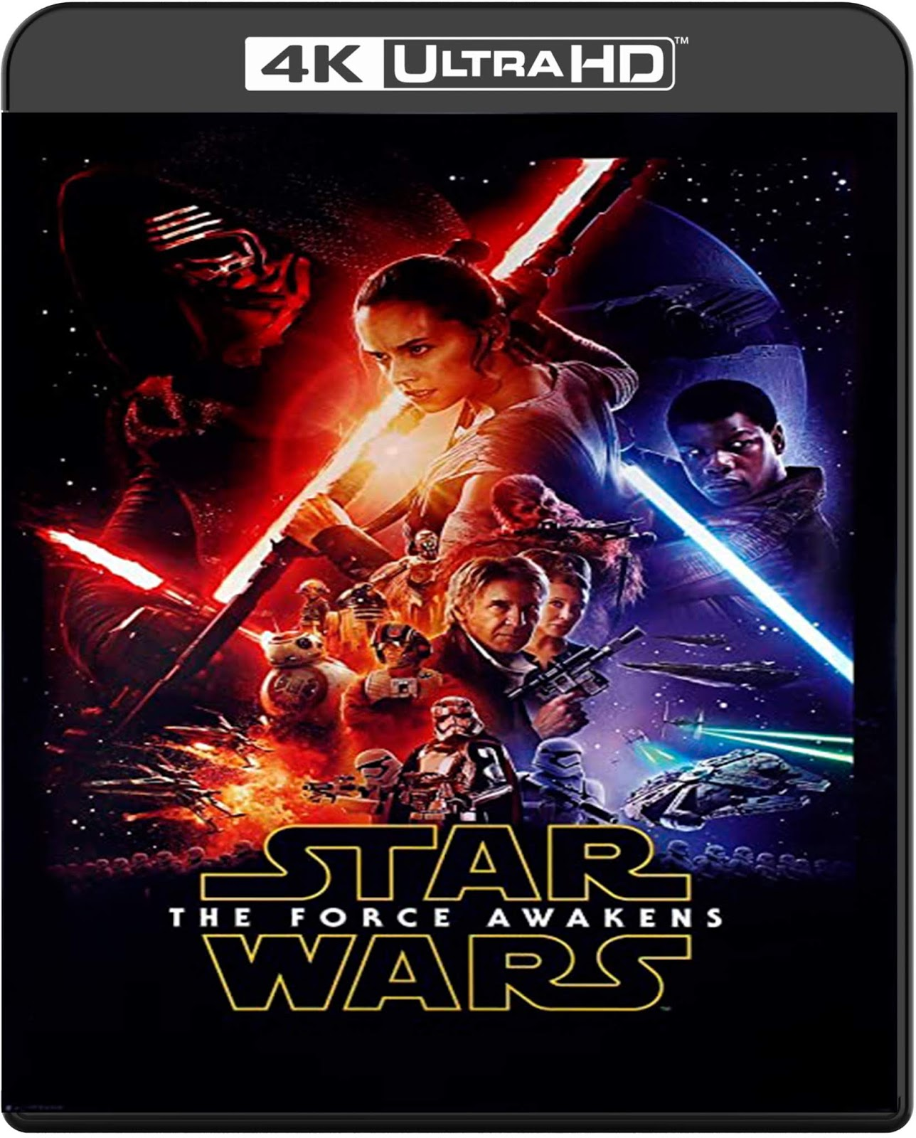 Star Wars. Episode VII: The Force Awakens [2015] [UHD] [2160p] [Latino]