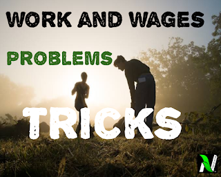 Work and wages problems tricks in Hindi | fast track formulae for problem solving.