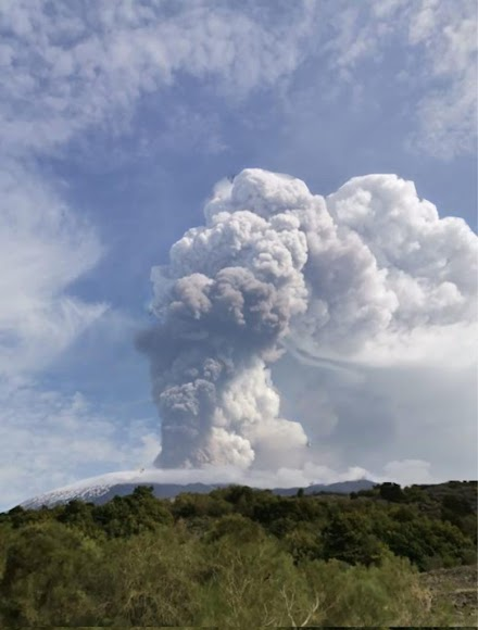 Έκτακτο : Ισχυρή έκρηξη του ηφαιστείου της Αίτνα