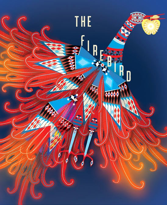 "Once Upon A Blog...: Lesley Barnes' Colorific ""Firebird"""