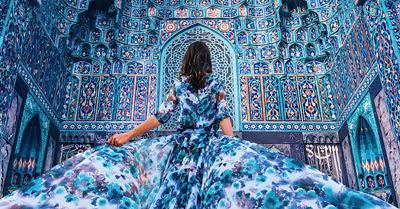 st petersburg mosque bukhara style, bukhara emirate mosque russia, uzbekistan art craft tours