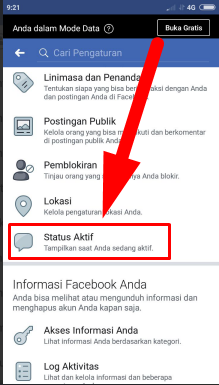 Cara Menghilangkan Tanda Online Walaupun Sedang Aktif Di Facebook