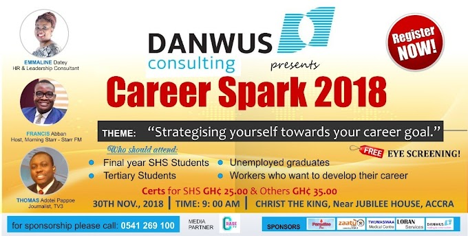 Danwus Consulting Outdoors Speakers For Career Spark 2018