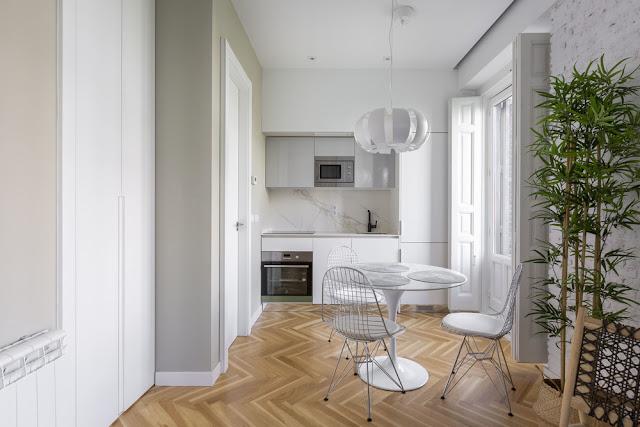 Дизайн-проекты. Квартира с модернистской индивидуальностью