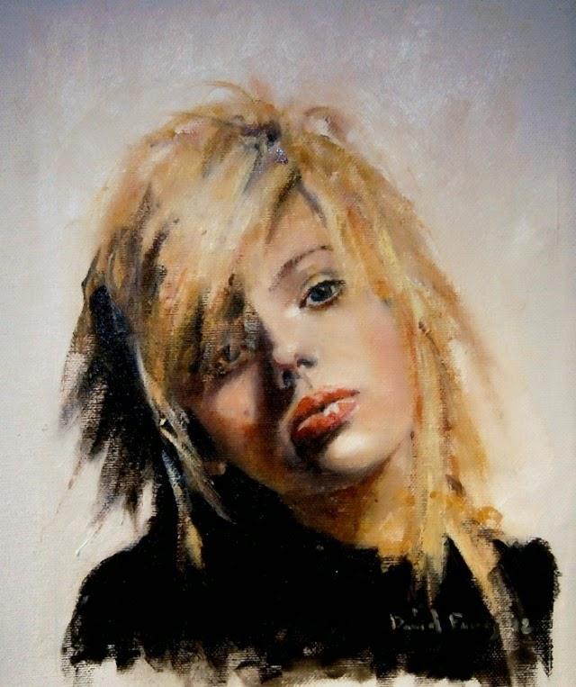 Испанский художник. David Farres Calvo