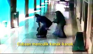 [Video] Cubaan menculik kanak-kanak