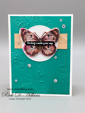 You will be sending a ton  of smiles and butterflies with the Butterfly Brilliance and Many Messages Bundles.  Click here to learn more
