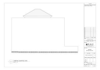 tampak samping kiri gambar desain rumah untuk 2 lantai 6x14 (8)