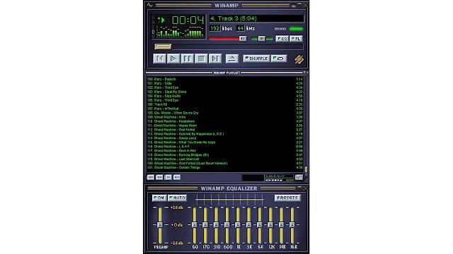 7 تطبيقات تشبه برنامج Winamp ( لقراءة ملفات الموسيقى في الكمبيوتر الشخصي)