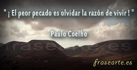 Frases de la vida de Paulo Coelho