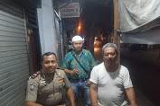 Binmas Aiptu Suparno Sambangi Kediaman RW.06 Jembatan Lima