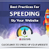 Best Practices for Speeding up your Website #infographic