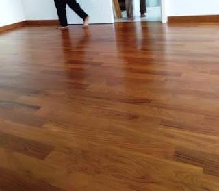 parquet kayu solid