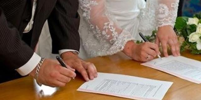 تصديق عقد الزواج بالسفارة المصرية