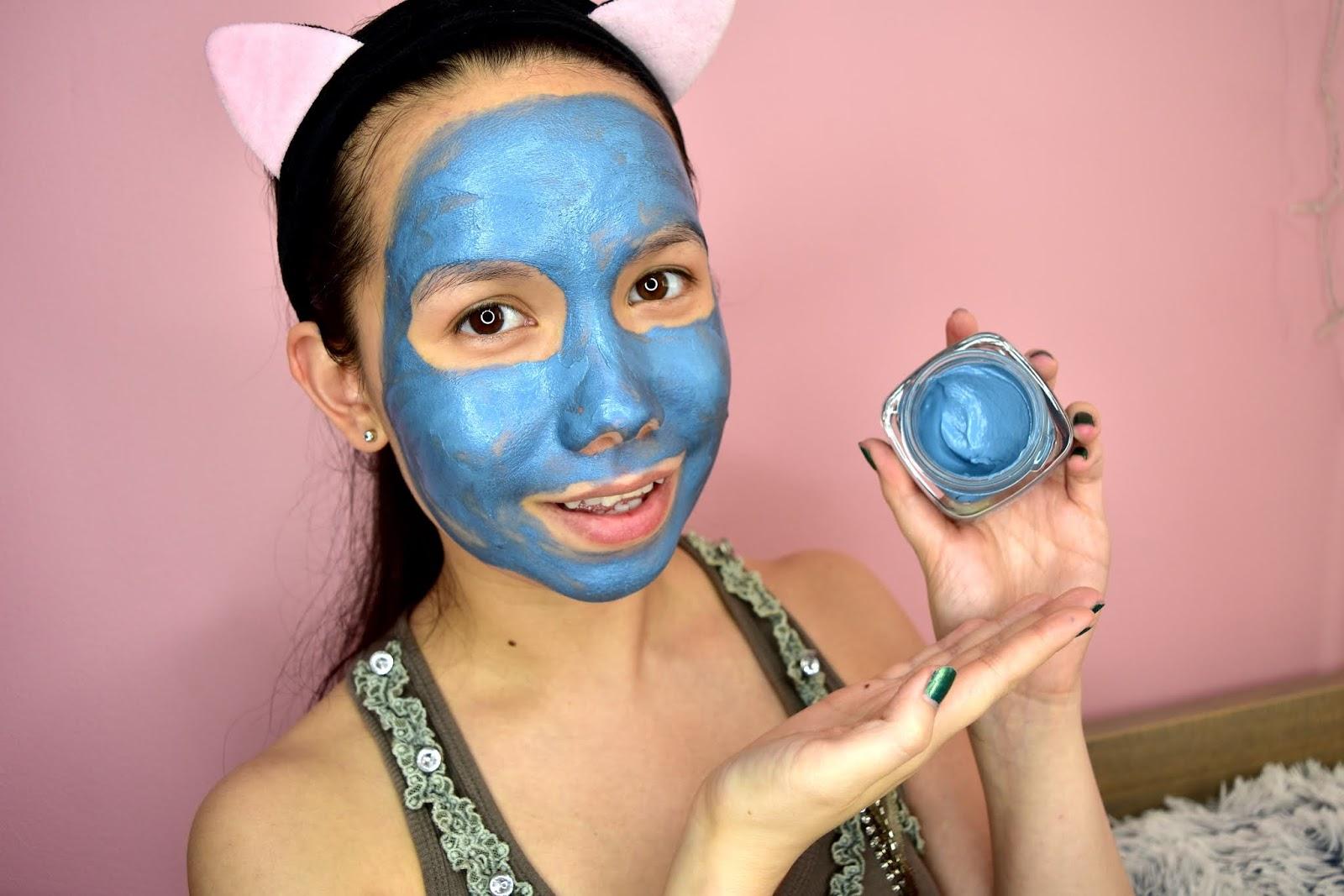 LOREAL pure clay maska aplikácia