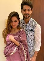 karan wahi with here girlfriend Uditi Singh
