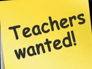 WANTED TEACHERS