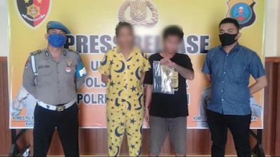 Kakak Beradik Tertangkap Basah Bawa Pil Ekstasi di Tempat Hiburan Malam di Jl Listrik Medan