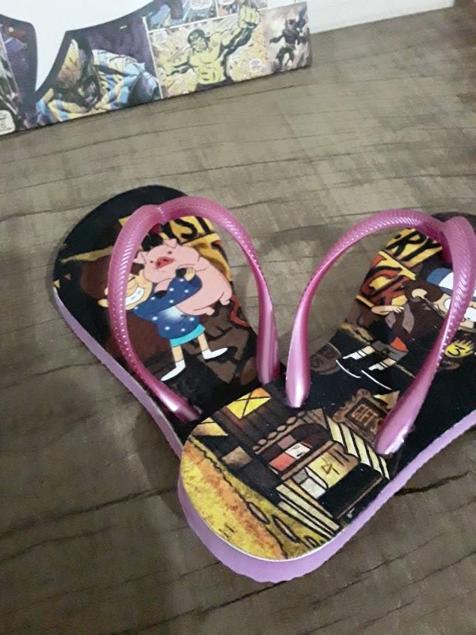 Chinelos Personalizados Gravity Falls