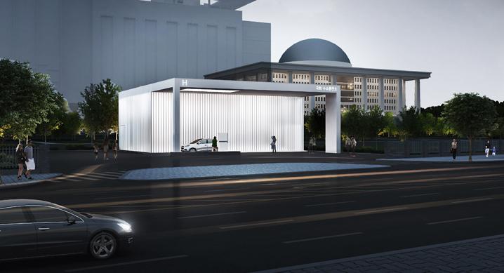 현대자동차, 여의도 국회 수소충전소 착공식 및 협약식 개최