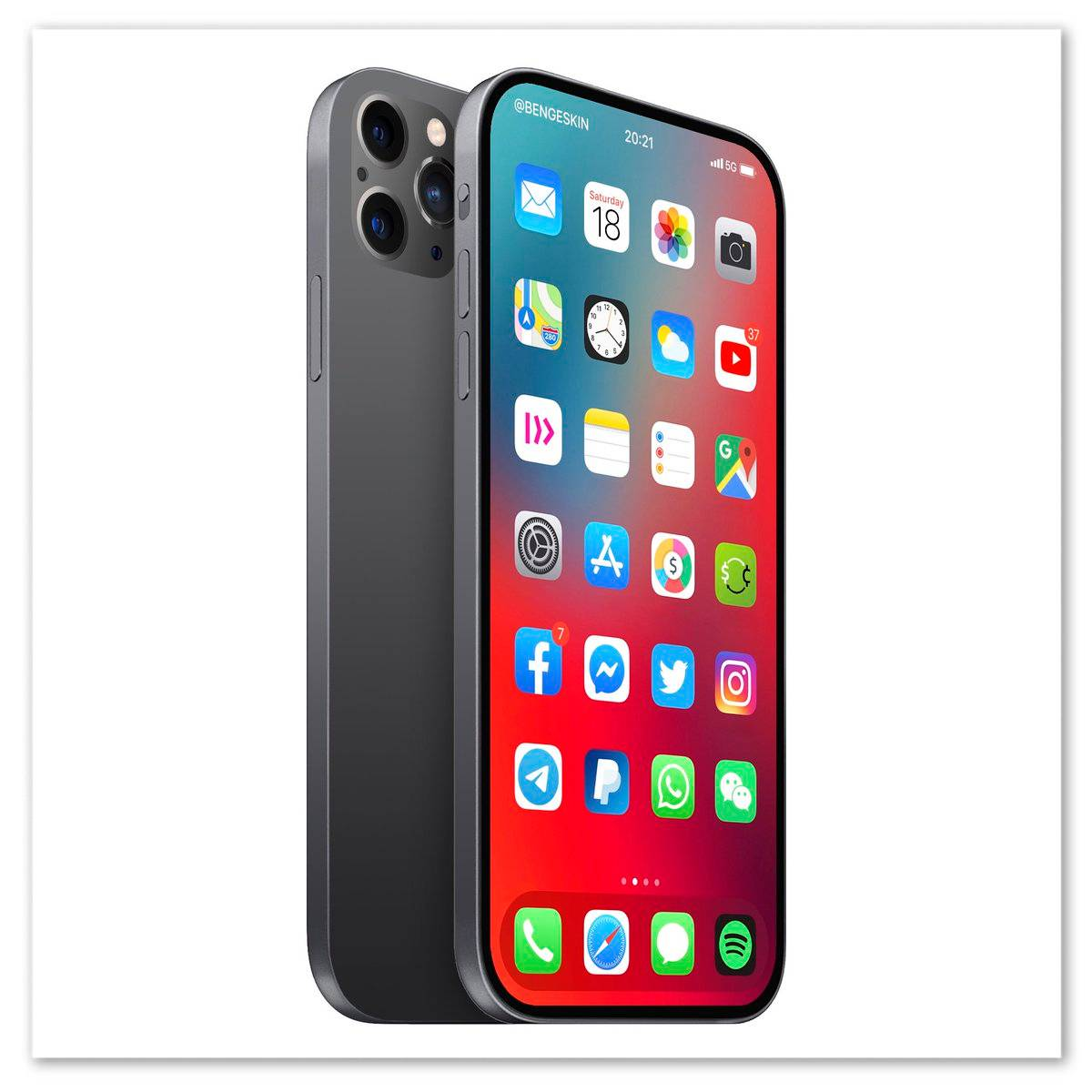 This may be the iPhone 13. Insiders are already discussing what may surprise their Apple fans in 2021