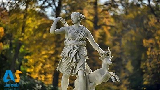 یادبود زیبا و ماندگار الهه آرتمیس