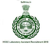 HSSC Laboratory Assistant Recruitment