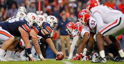 Auburn v Georgia is top list, 15 most played rivalries in the SEC Championship history through 2019 season.