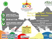 Buruan Daftarkan Usahamu di Acara EXPO Kedaulatan Pangan, Kesempatan Terbatas