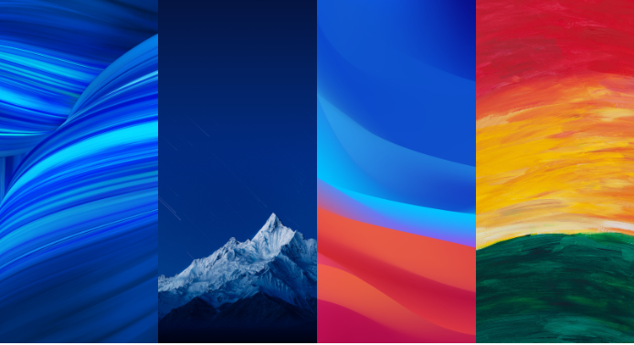 Download Stock Wallpapers Oppo F9 Pro (Full HD+)