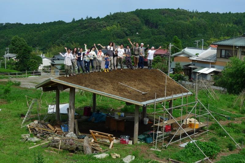 百姓 hyakusho yes garden 屋上緑化 living roof