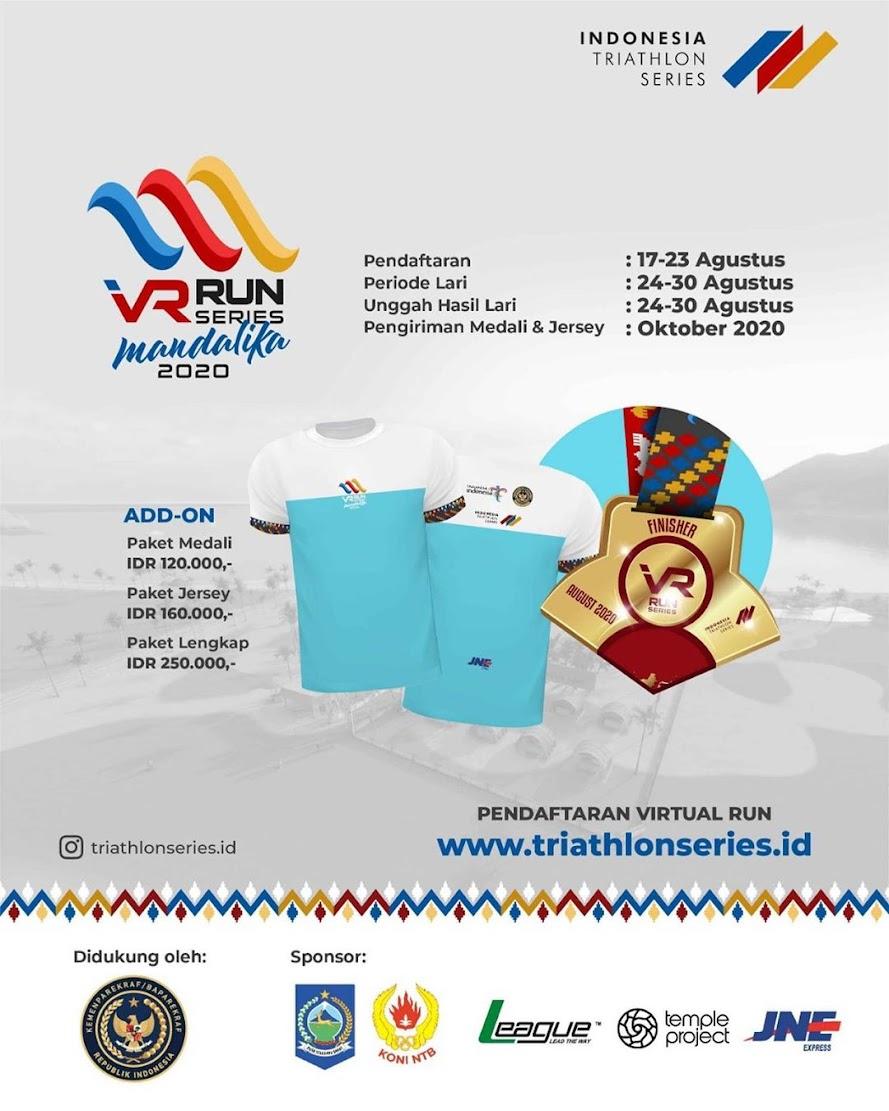 Indonesia Triathlon Series - VR Series ∙ Mandalika • 2020
