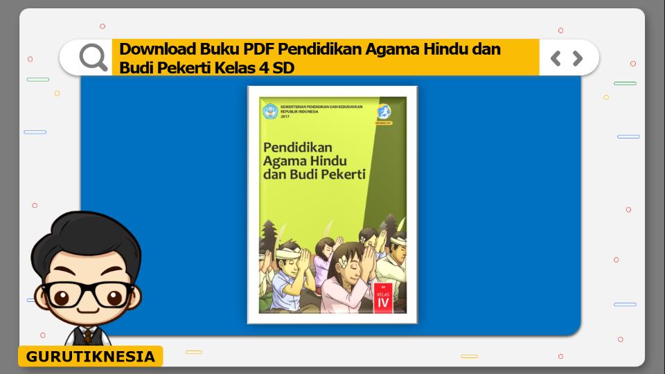 download buku pdf pendidikan agama hindu dan budi pekerti kelas 4 sd