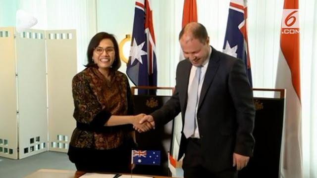 Australia Kasih Pinjaman RI Rp15 Triliun, Sri Mulyani Lega