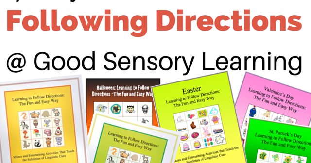 learning specialist and teacher materials good sensory learning learning specialist and teacher materials good sensory learning following directions how do i teach this skill
