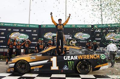 Kurt Busch Wins Battle of Brothers #NASCAR