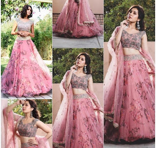 crop top lehenga for wedding