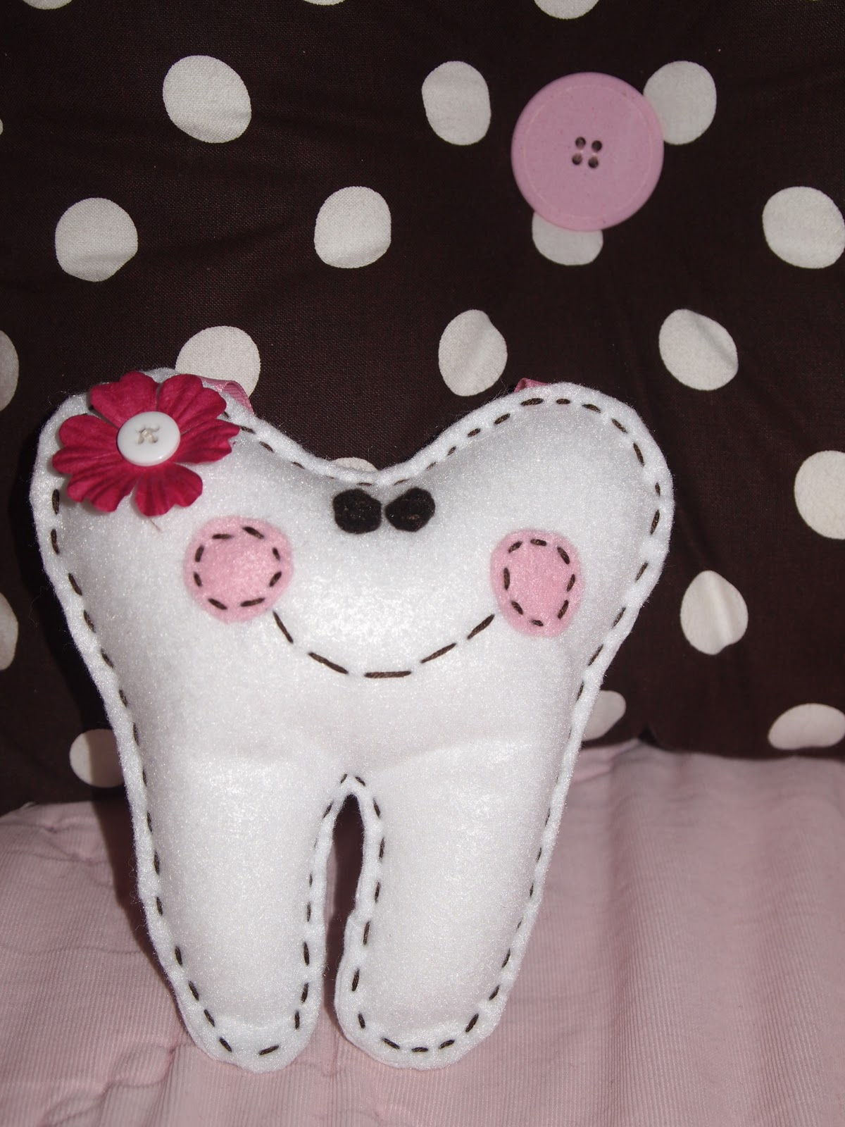 at home in the northwest: Tooth Fairy Pillow