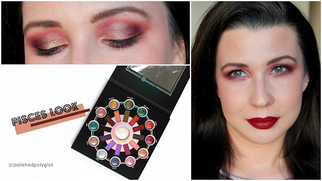 Burgundy Makeup Look with BH Cosmetics Zodiac palette