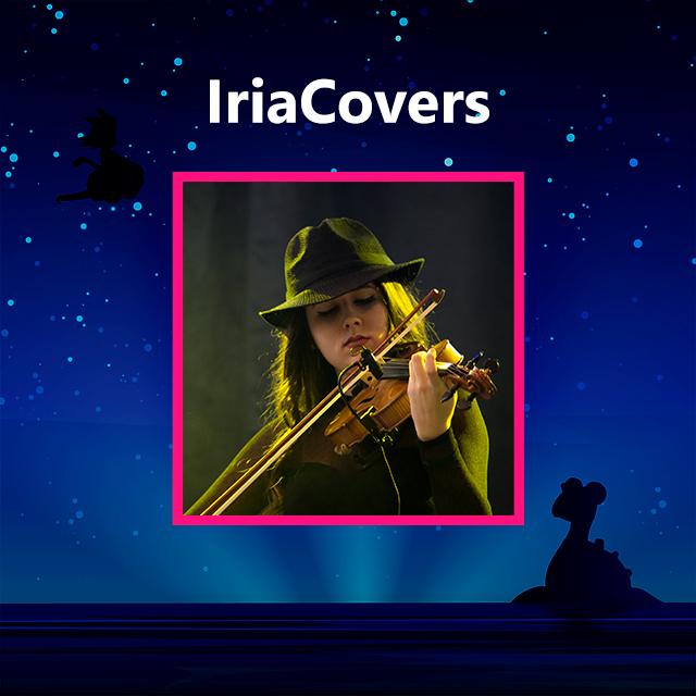 Imagen con el logotipo de IriaCovers
