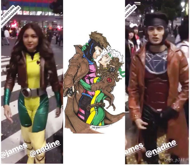 Look: James Reid and Nadine Lustre dress up Marvel Comics Heroes for Halloween