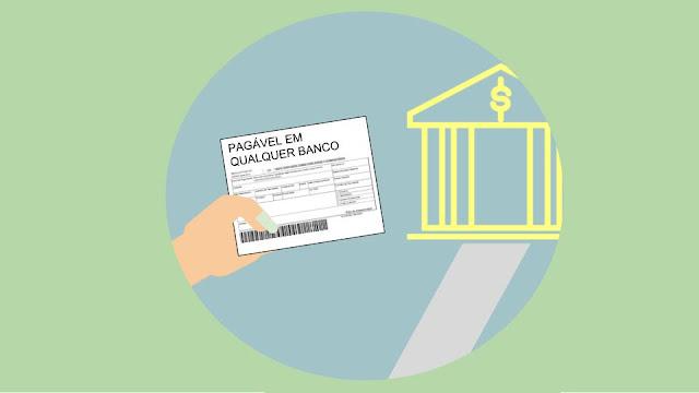 boleto pagável em qualquer banco