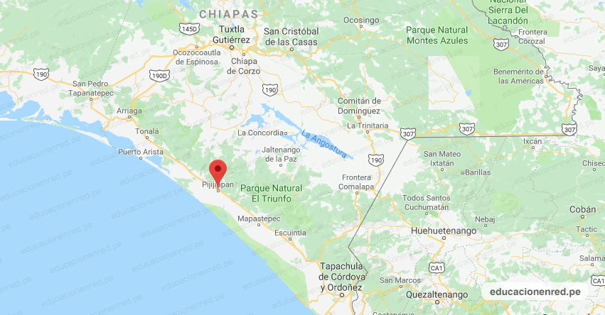 Temblor en México de Magnitud 4.1 (Hoy Sábado 30 Enero 2021) Sismo - Epicentro - Pijijiapan - Chiapas - CHIS. - SSN - www.ssn.unam.mx