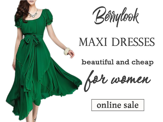 Длинные недорогие платья на любой случай в интернет-магазине Berrylook - подборка платьев