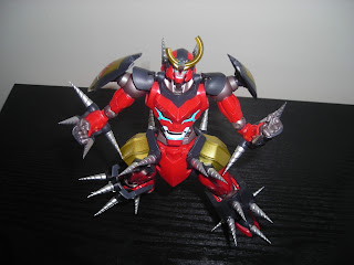 Super Robot Chogokin Gurren Lagann Drill Set of Manliness 05