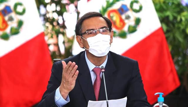 Martín Vizcarra conferencia de prensa, 20 de agosto del 2020