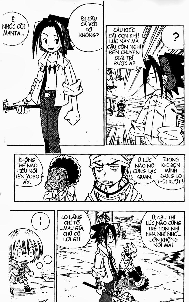 Shaman King [Vua pháp thuật] chap 141 trang 20