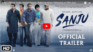 Sanju movie Trailer Launch Ranbir Kapoor as Sanjay Dutt